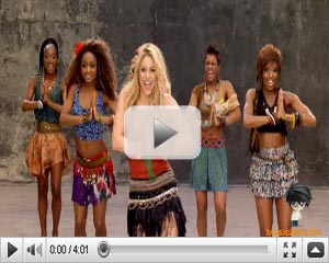 Shakira - Waka Waka - World Cup 2010